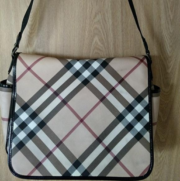 a074b7eaa9ab Burberry Handbags - 💯 Authentic Burberry Messenger Bag! Sale!